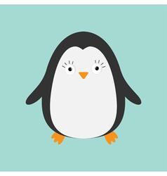 Penguin Cute cartoon character Arctic animal vector image