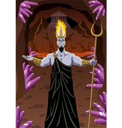 Hades vector image vector image