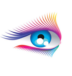 Abstract eyelashes vector