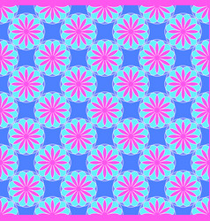 abstract pattern on the blue background vector image