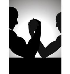 Hand Wrestling vector