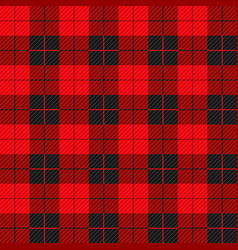 lumberjack seamless pattern with diagonal lines vector image