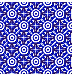 Modern blue pattern vector