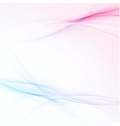 Modern transparent swoosh wave abstract vector