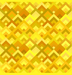 yellow abstract seamless diagonal shape pattern vector image