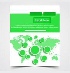 ad web banner vector image