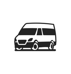 vehicles car bus truck icon vector image vector image