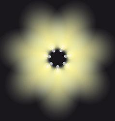 lamp light vector image