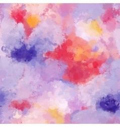 Seamless organic watercolor background soft vector image