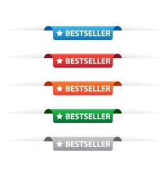 Bestseller paper tag labels vector