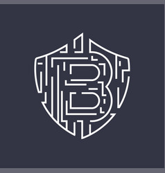 Bitcoin logo editable stroke vector