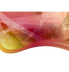 Bright abstraction vector