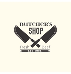 Butcher shop logo vector