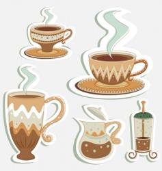 Coffee designs vector