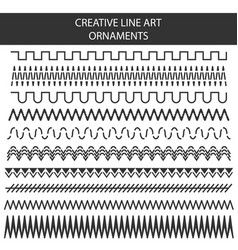 Creative of hand drawn line vector