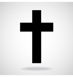 Cross Christian Symbol vector image