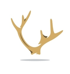Deer Horns Cartoon vector image