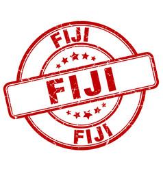 Fiji stamp vector