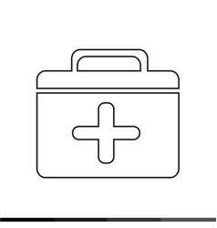 first aid icon design vector image