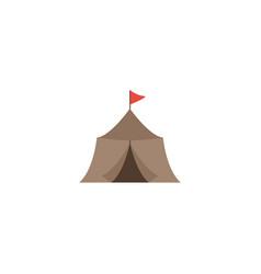 flat icon medieval barracks element vector image
