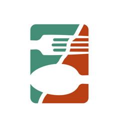 Logo or logo for a restaurant cafe or diner vector
