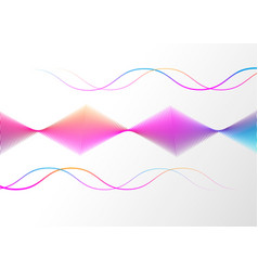 neon color abstract gradient linear background vector image