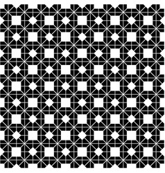 tile black and white pattern or website background vector image