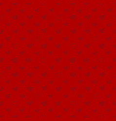 valentines day greeting card seamless pattern vector image