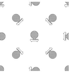 waffle maker pattern seamless vector image
