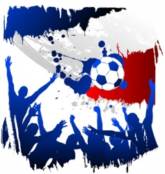 world cup France vector image