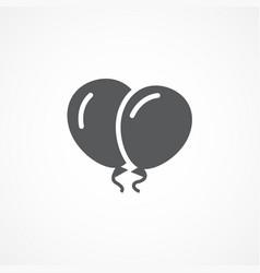 balloon icon vector image vector image