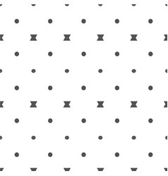 abstract black dots bow tie pattern background vec vector image