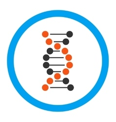 Dna Rounded Icon vector image