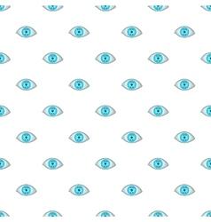 Eye pattern cartoon style vector