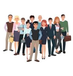 Group men and women business creative team vector