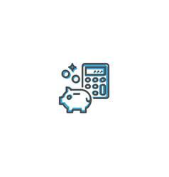 money icon design startup icon design vector image
