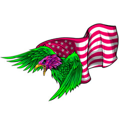 national symbol united states of vector image