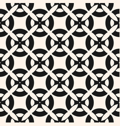 seamless pattern with mosaic black tiles vector image
