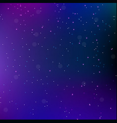 sky night space abstract background with stars vector image