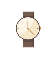 watch classic vintage type vector image