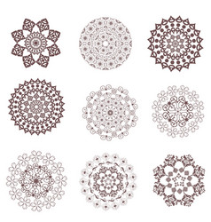 fancy collection of graceful arabesques for your vector image