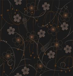 seamless pattern - wallpaper vector image