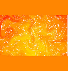fluid colorful shapes background orange trendy vector image