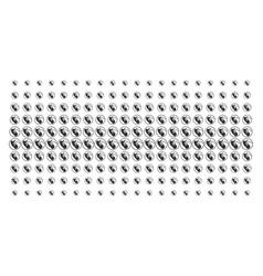 Prenatal shape halftone array vector