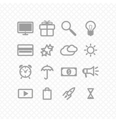 Set icons vector