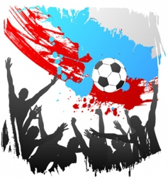 world cup Russia vector image