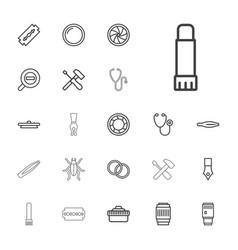22 macro icons vector