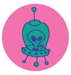 alien vector image