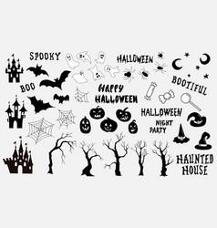 Big halloween vector