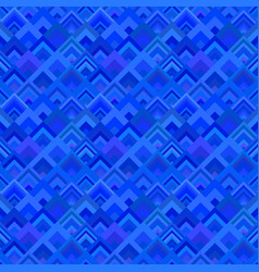 blue geometrical seamless diagonal square pattern vector image
